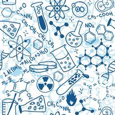Chemistry fabric by piratesbootyk on Spoonflower - custom fabric