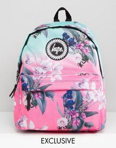 Hype Exclusive Ombre Floral Backpack