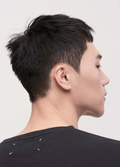 Asian Boy Haircuts, Asian Men Short Hairstyle, Asian Haircut, Asian Short Hair, Haircuts For Men, Hair Reference, Boy Hairstyles, Hair Inspiration, Curly Hair Styles