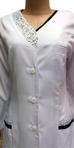 Renatta Aventais, Jalecos - Porto Alegre Scrubs Outfit, Scrubs Uniform, Kurta Style, Lab Coats, Medical Uniforms, Medical Scrubs, Hijab Fashion, African Fashion, Work Wear