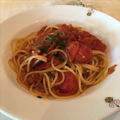 Pasta with Tomato Sauce Regal Princess Sabatini's