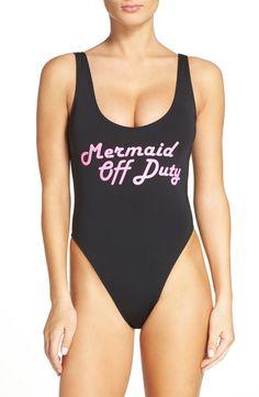 Mermaid off duty.