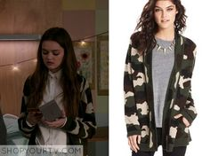 Red Band Society: Season 1 Episode 9 Emma's Camo Cardigan