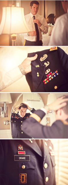 army wedding | Can't wait to see my baby in his dress blues for our wedding