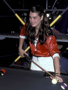 Actress Brooke Shields attends the CBS Television Competition Special 'Celebrity Challenge of the Stars' on March 23 1980 at Mt San Antonio College...