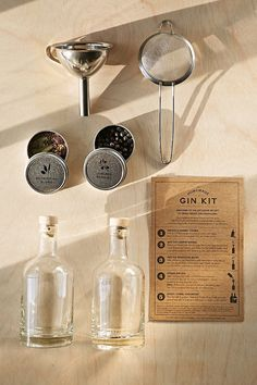 The Homemade Gin Kit - Urban Outfitters