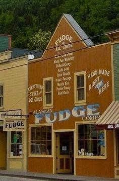 The Alaskan Fudge Company, Skagway, Alaska
