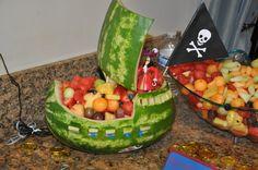 Peter Pan Party ~ Food ~ Fruit Ship