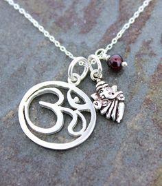 Dharmashop.com - Sterling Om Ganesh and Amethyst Necklace , $59.00 (http://www.dharmashop.com/sterling-om-ganesh-and-amethyst-necklace/)