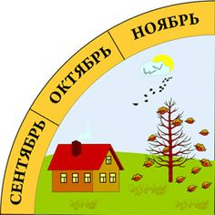 календарь природы осень