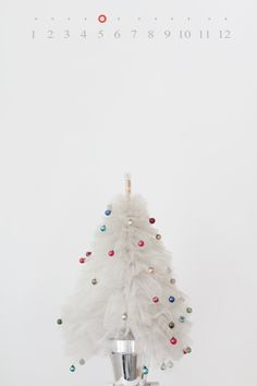 pencil box: little light of mine- pretty tulle tree