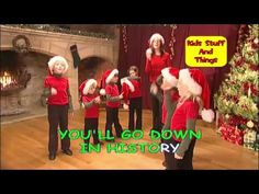 ▶ Rudolph The Red Nosed Reindeer Action Song - YouTube >>> break kids into groups and have them create their own gestures. Share. ( Any upbeat carol )