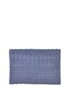 Ibiza Clutch Blue Analine