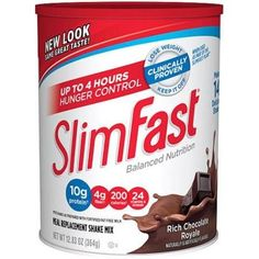 Slim Fast Rich Chocolate Royale Shake Mix Powder, Pack of 2 ,Slim-htjt ** Unbelievable  item right here! : Weight loss Shakes and Powders