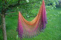 Sunrise shawl