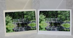 Bridge photograph on White or Ivory Card stock with envalope by AppleGroveCreation on Etsy Card Stock, Bridge, Photograph, Greeting Cards, Ivory, Pictures, Etsy, Fotografie, Photos