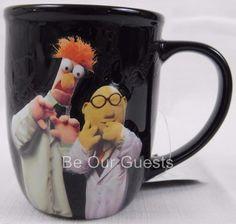 Disney Parks Muppets Beaker Dr. Honeydew Nerds Heat Sensitive Coffee Mug New