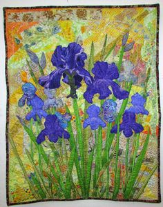 Sylvan Quilts: Iris Summer by Elizabeth Sylvan