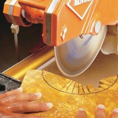 How to Make Precision Cuts With a Diamond Tile Saw. A diamond tile saw is essential for cutting natural stone tile and other hard tile. In this article a tiling pro explains how to make tough cuts like curves, corners and tiny slivers.
