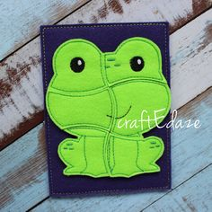 These playful puzzles are the perfect addition to your toddlers busy bag! The handy puzzle board measures approximately 5x7 inches and includes a convenient back storage pouch to keep the pieces in when your little one takes a break. This item is made of 100% recycled eco-fi felt. For access to current coupon codes and promotions, visit my facebook page at www.facebook.com/craftedaze Thanks for looking
