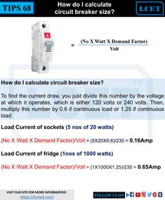 we will guide you to choose right mcb breaker for your circuit