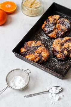 The Spoon and Whisk: Chocolate, Clementine and Ginger Buns