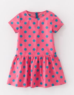 I've spotted this @BodenClothing Spotty Dress Bright Pink/City Blue Spot