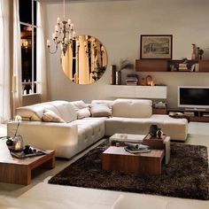 Chic sectionals.