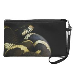 California King Snake Bag Wristlet Clutch
