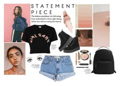 """""""MR. T"""" by alexia-itzel ❤ liked on Polyvore featuring Levi's, River Island, Whiteley, Vagabond, MANGO and Maybelline"""