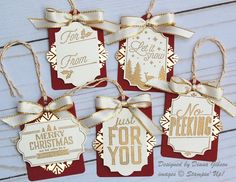 Glammed Up Tags by Diana Gibson - Cards and Paper Crafts at Splitcoaststampers