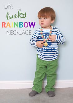 DIY Lucky Rainbow Necklace for St. Patrick's Day   Hellobee