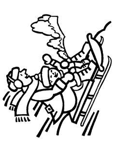 Omalovánky zimní sporty | i-creative.cz - Inspirace, návody a nápady pro rodiče, učitele a pro všechny, kteří rádi tvoří. Diy Crafts, Creative, Sporty, Winter, Homemade, Diy Home Crafts, Crafts, Diy Artwork, Diy Crafts Home