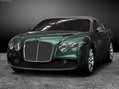 Bentley GTZ Zagato - I'll take another color please