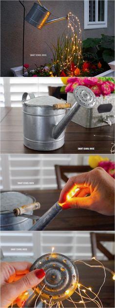 16 Fun DIY Ways To Light Up Your Garden