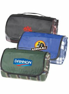 Picnic Blanket - Not only great for a picnic, but also for sporting events,outdoor concerts, parades and many other outdoor opportunities. Adding your logo to this item will surely get your company seen by many.  #buildyourbrand #expandingoutside #companyrecognitioneverywhere www.spencergear.com