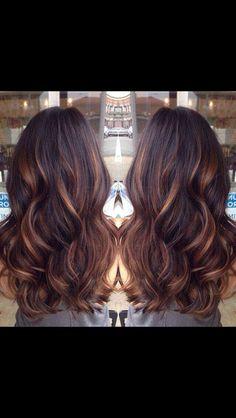 Beautiful hair painting