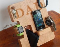 Personalized Phone Docking Station Christmas by PerrelleDesigns