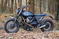 2016 Moto Guzzi Bellagio by Officine Rossopuro