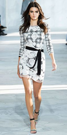 Runway Looks We Love: New York Fashion Week - Spring/Summer 2015 from #InStyle Diane von Furstenberg