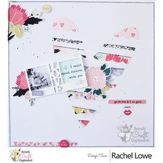 Echo Park You and Me layout You Are Mine and I am Yours by Rachel Lowe - Echo Park You and Me layout You Are Mine and I am Yours Hello ACC friends, Rachel here with a Valentine themed layout, Echo Park You and Me layout You Are