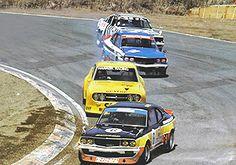 ドライバー猪原 理 '79 富士GC、スーパーシルエット・レース サバンナRX-3 13Bペリ(ドライサンプ)