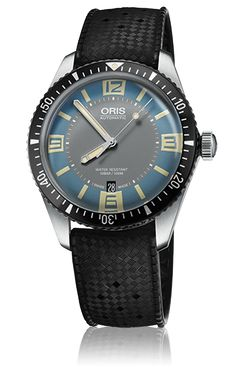 01 733 7707 4065-07 4 20 18 - Oris Divers Sixty-Five - Oris Divers - Diving - Collection - Oris - Purely mechanical Swiss watches.