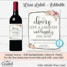 39 best wine labels images on pinterest in 2018 bottle labels