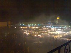 Marrakech, Jamaa Elfana by night
