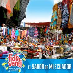 """En las fiestas del Yamor visitemos la Plaza de """"Los Ponchos"""" en Otavalo. Un lugar lleno de color y tradiciones que tiene #ElSaborDeMiEcuador https://www.facebook.com/photo.php?fbid=327710053990836=a.272235499538292.59139.181761801918996=3"""