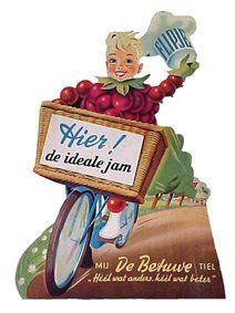 Old Dutch ad for Betuwe jam