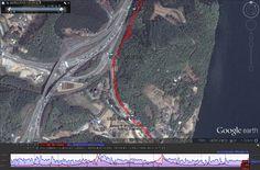 북한강울트라마라톤대회 구글맵-02