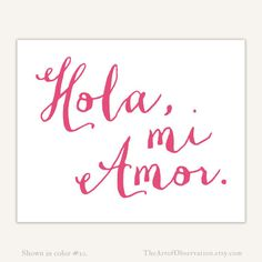 Amor Quotes, Sex Quotes, Funny Quotes, Typography Love, Typography Quotes, Love In Spanish, Art Prints Quotes, Quote Art, Ex Amor