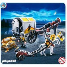 Playmobil 4874 - Lion Knights Treasure Transport